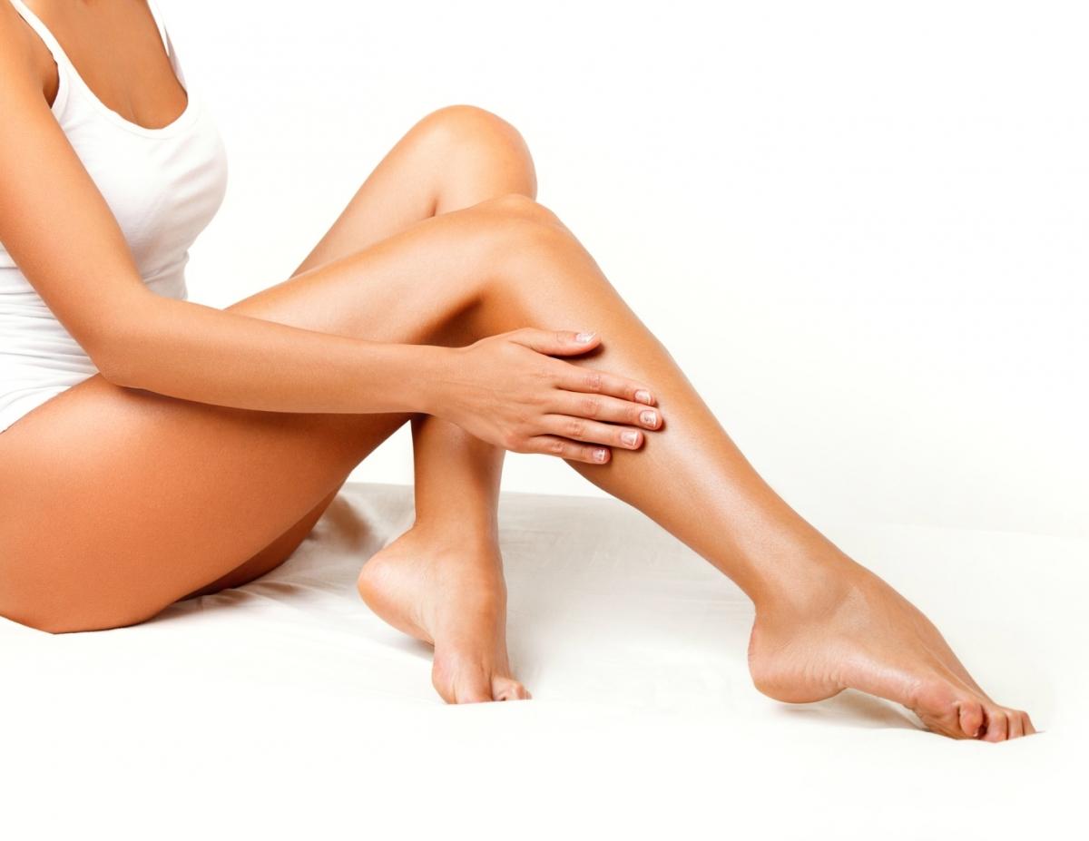 ženske depilirane noge
