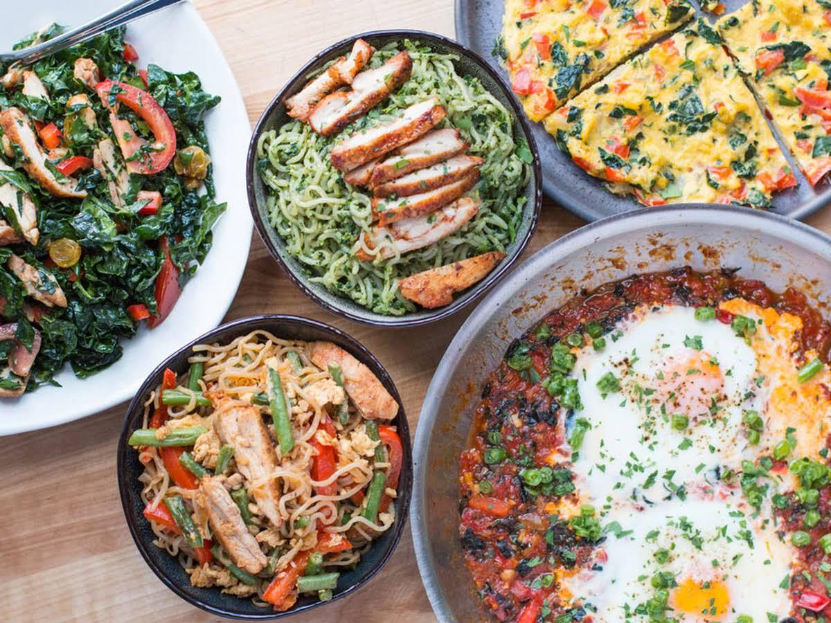 Zdrava hrana na stolu