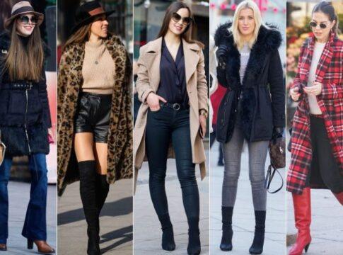 Devojke u modnim kombinacijama za jesen zimu