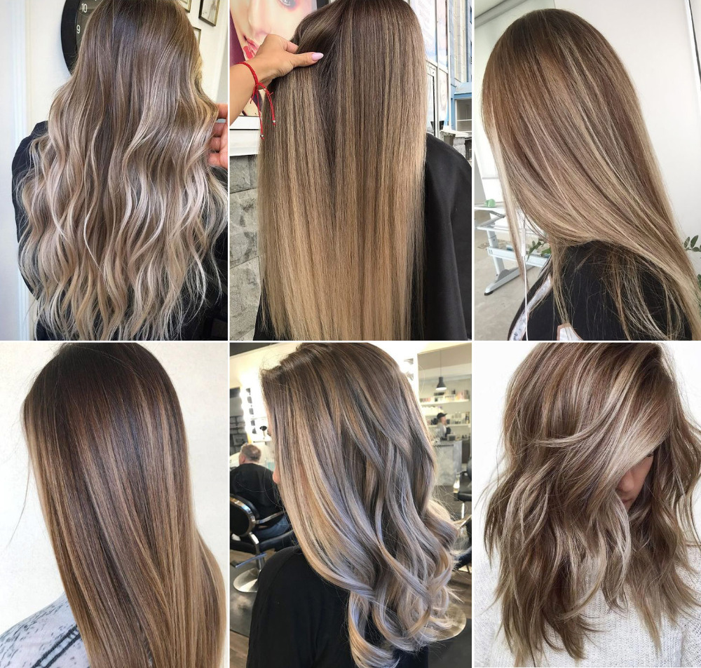 Nijanse smeđe kose